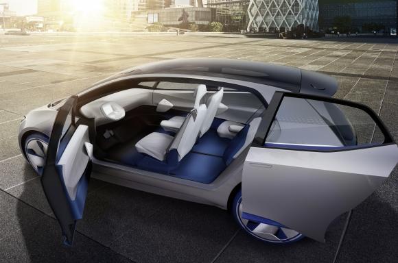 Revolutionary Volkswagen I D Electric Concept Car Makes Its
