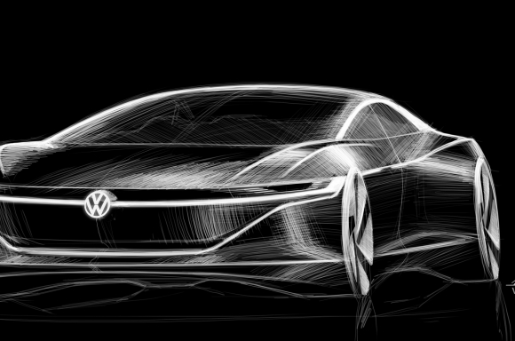 VOLKSWAGEN UNVEILS ALL-ELECTRIC I.D. VIZZION CONCEPT AT THE GENEVA on