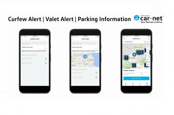 Volkswagen Car Net Mobile App Adds New Features Volkswagen Media Site