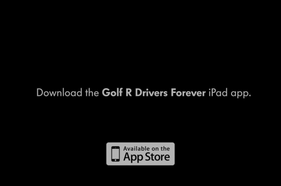 The Golf R Drivers Forever iPad app
