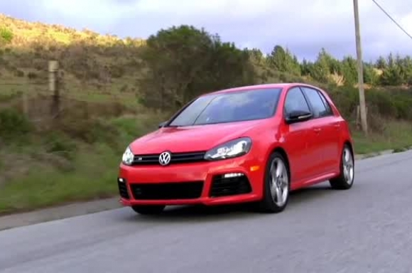 VW Golf R in action 2013