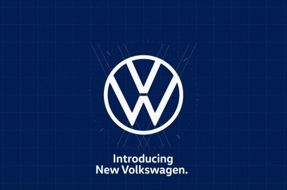 A new look for the iconic Volkswagen logo