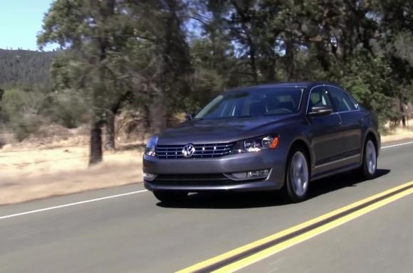 2014 VW Passat SEL 1.8L Running Footage