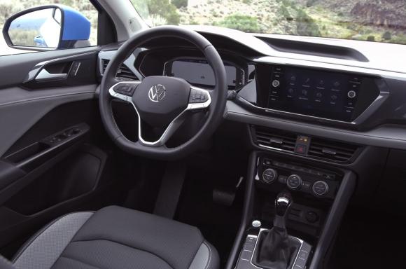 2022 Volkswagen Taos interior B-Roll