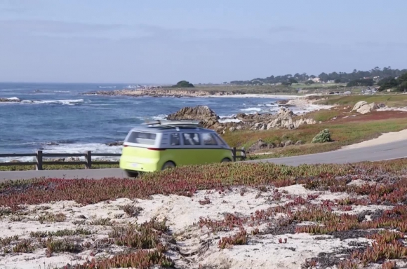 I.D. BUZZ Running Footage in Pebble Beach, CA