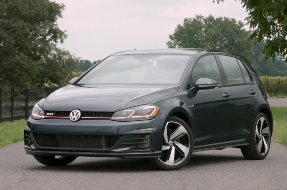 2018 Golf GTI Static B-Roll